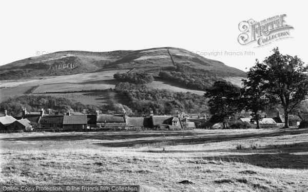 Photo of Town Yetholm, the Village from Cheviot Foot c1955, ref. Y26013