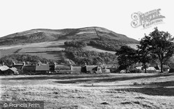Yetholm, The Village From Cheviot Foot c.1955, Town Yetholm