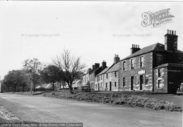 Photo of Town Yetholm, the Village Green c1955, ref. Y26001