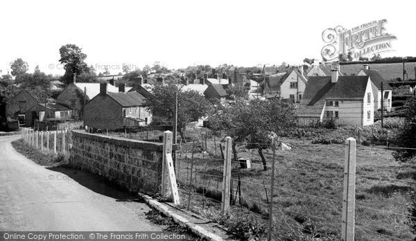 Photo of Yetminster, Brister End c.1955