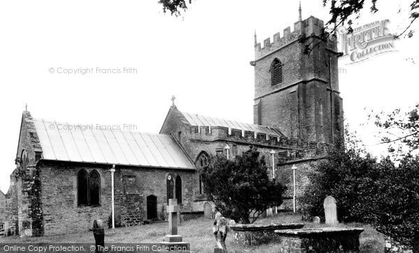 Photo of Yetminster, St Andrew's Church c.1955