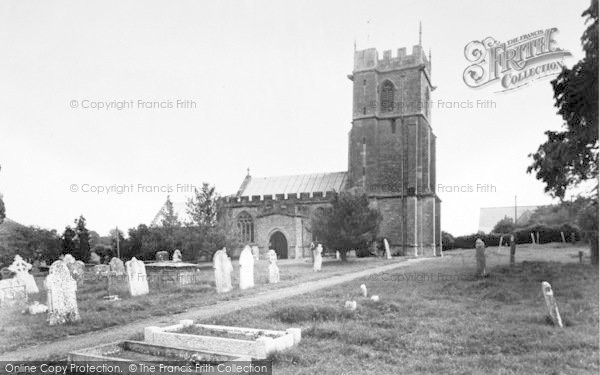 Photo of Yetminster, St Andrew's Church c.1960