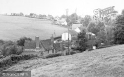 Yetminster, The Village From The Mill c.1960