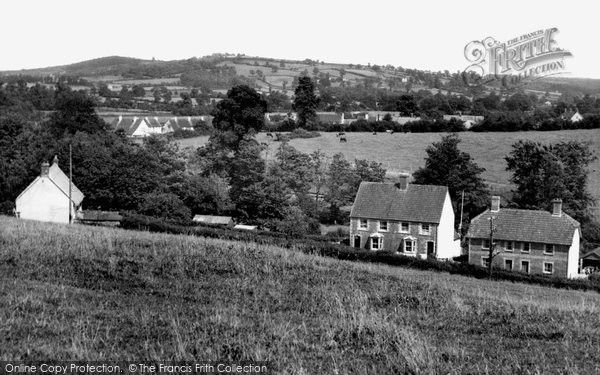 Photo of Yetminster, View From Tarks Hill c.1955