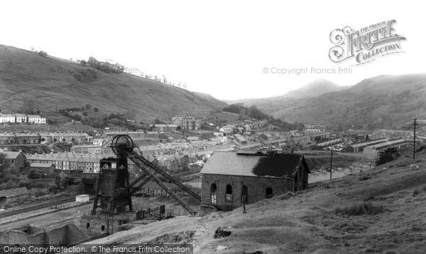 Ynyshir, General View  c1965