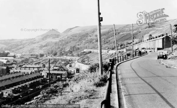 Photo of Ynyshir, Heath Terrace c.1965
