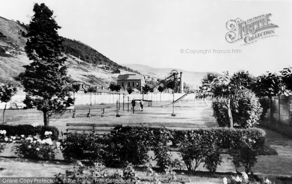 Photo of Ynyshir, The Park c.1965