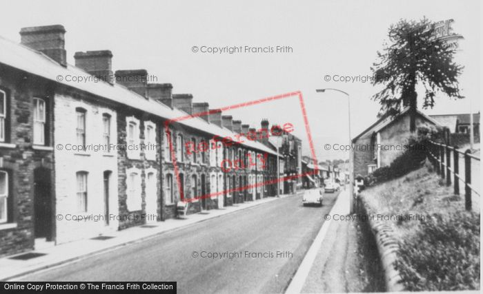 Photo of Ynyshir, Ynyshir Road c.1965