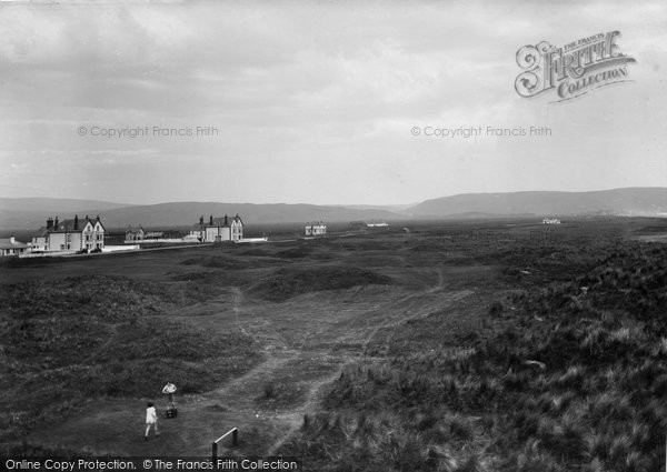 Photo of Ynyslas, And The Golf Links 1933