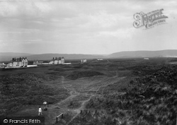 Ynyslas, And The Golf Links 1933