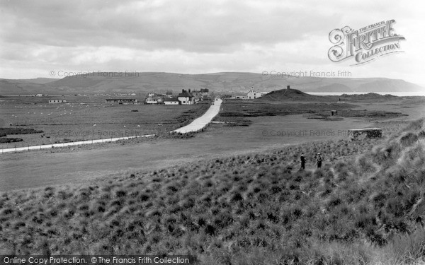 Photo of Ynyslas, From The Sandhills c.1950