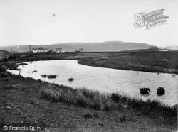 Ynyslas, The River Leri 1933