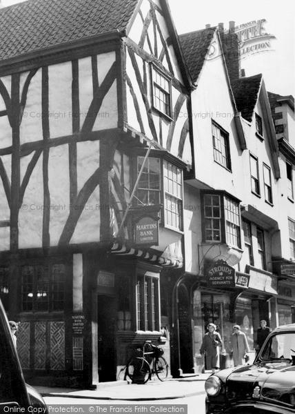 Photo of York, A Tudor House c.1950