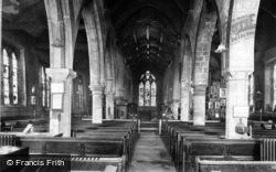 York, All Saints Church Interior, North Street 1909