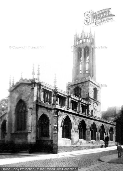 Photo of York, All Saints Church, Pavement 1897