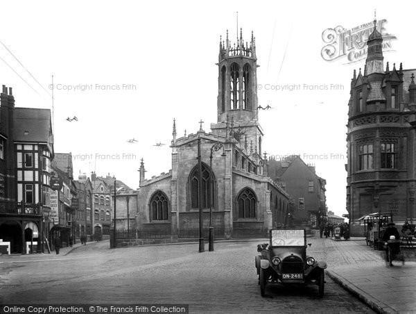 Photo of York, All Saints Church, Pavement 1921