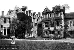 Ancient Palace Of Stuart Kings 1909, York