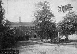York, Ancient Palace Of Stuart Kings c.1885