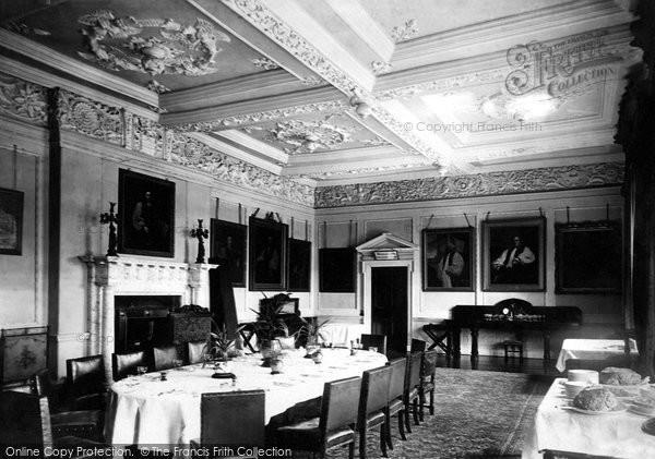 Photo of York, Bishopthorpe Palace, Dining Room 1893