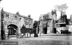 York, Bootham Bar 1886