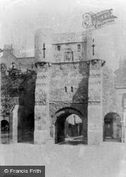 York, Bootham Bar c.1885
