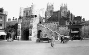 York, Bootham Bar c1939