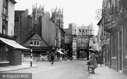 York, Bootham Bar c.1939