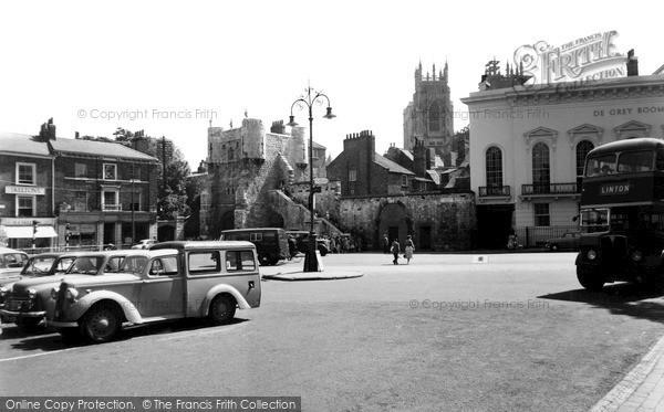 Photo of York, Bootham Bar c.1955