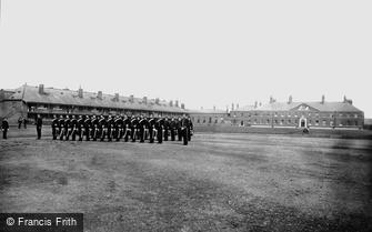 York, Cavalry Barracks, Officers' Mess 1886