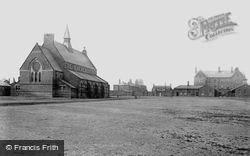 York, Cavalry Barracks, The Church 1886