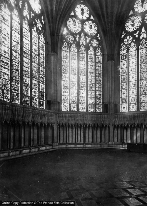 Photo of York, Chapter House c.1866