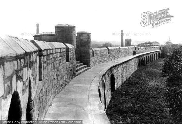 Photo of York, City Walls 1908