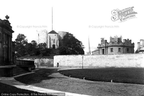 Photo of York, Clifford's Tower 1885