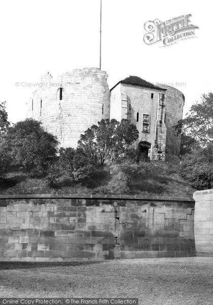 Photo of York, Clifford's Tower c.1885