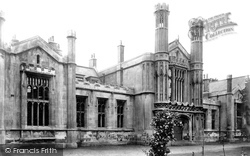 York, Clifton, St Peter's School 1909