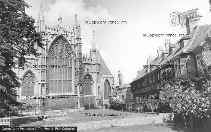 Photo of York, College Street And East Front c.1960