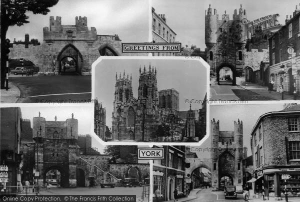 Photo of York, Composite c.1955