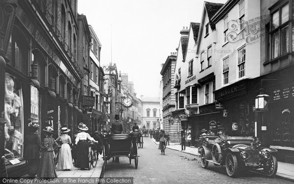 York, Coney Street 1909