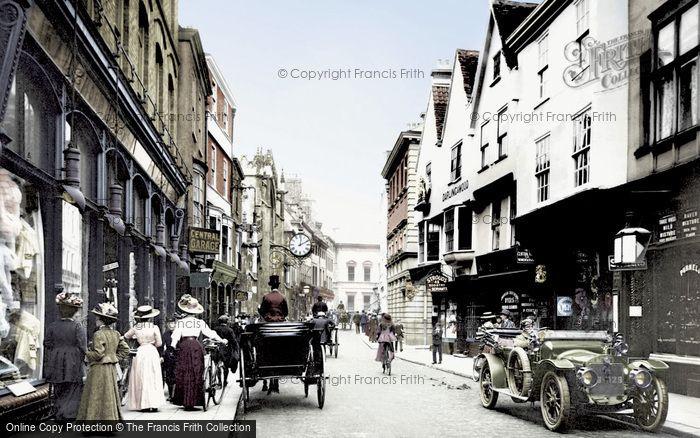 Photo of York, Coney Street 1909