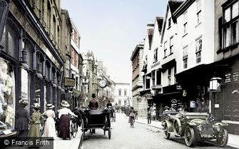 York, Coney Street 1909
