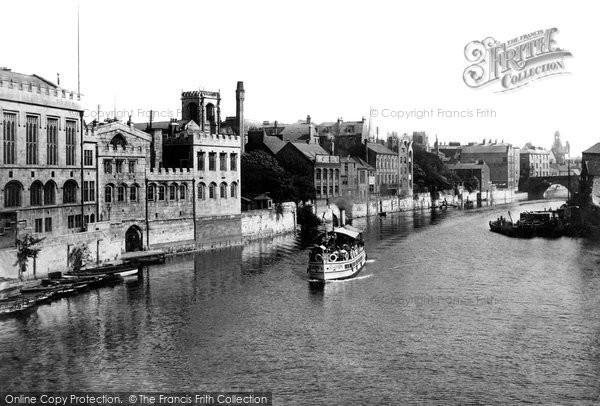 Photo of York, From Lendal Bridge 1908