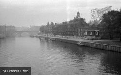 From Skeldergate Bridge 1951, York