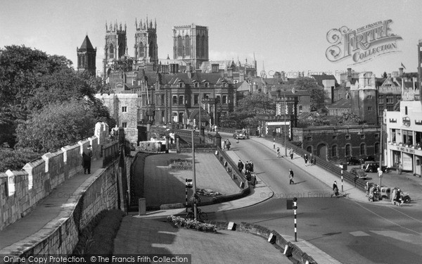 Photo of York, From The City Walls 1959