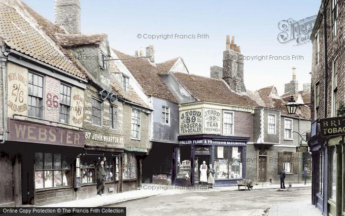 Photo of York, Goodramgate 1892