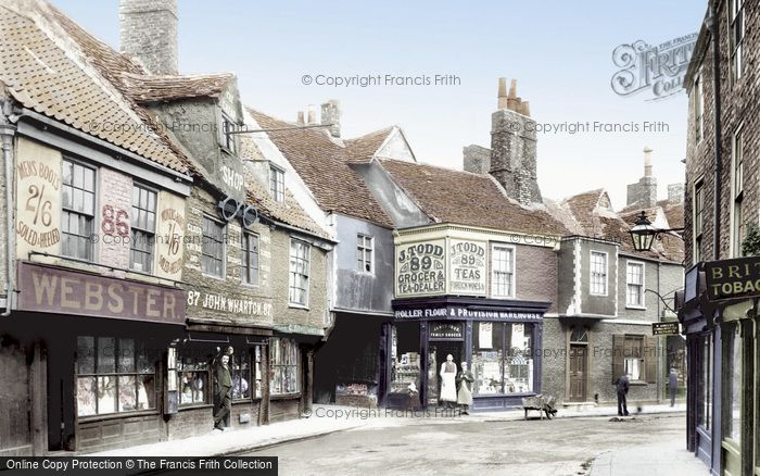 York, Goodramgate 1892