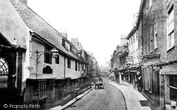 York, Goodramgate c.1866