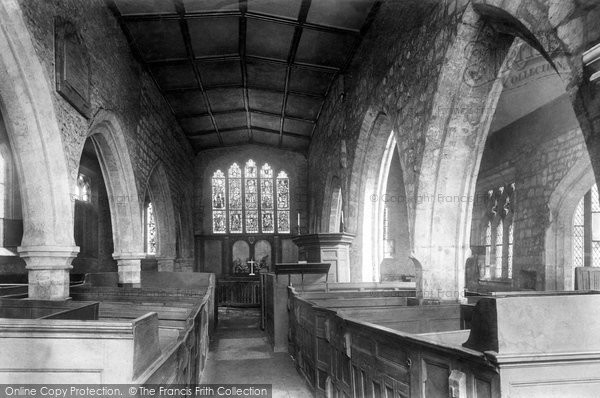 Photo of York, Goodramgate, Holy Trinity Church, The Interior 1909