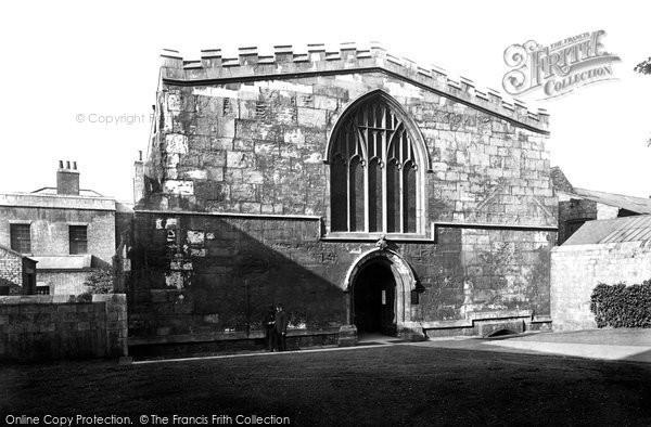 Photo of York, Guildhall c.1885
