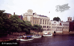Guildhall From The River Ouse c.1985, York