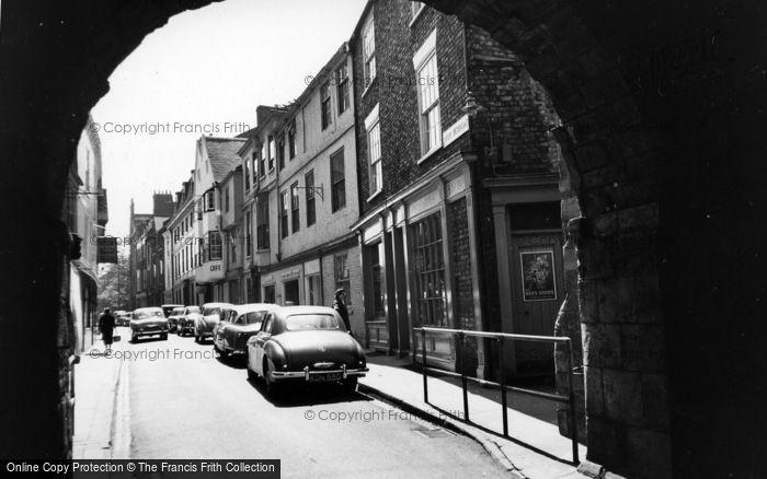 Photo of York, High Petergate c.1955